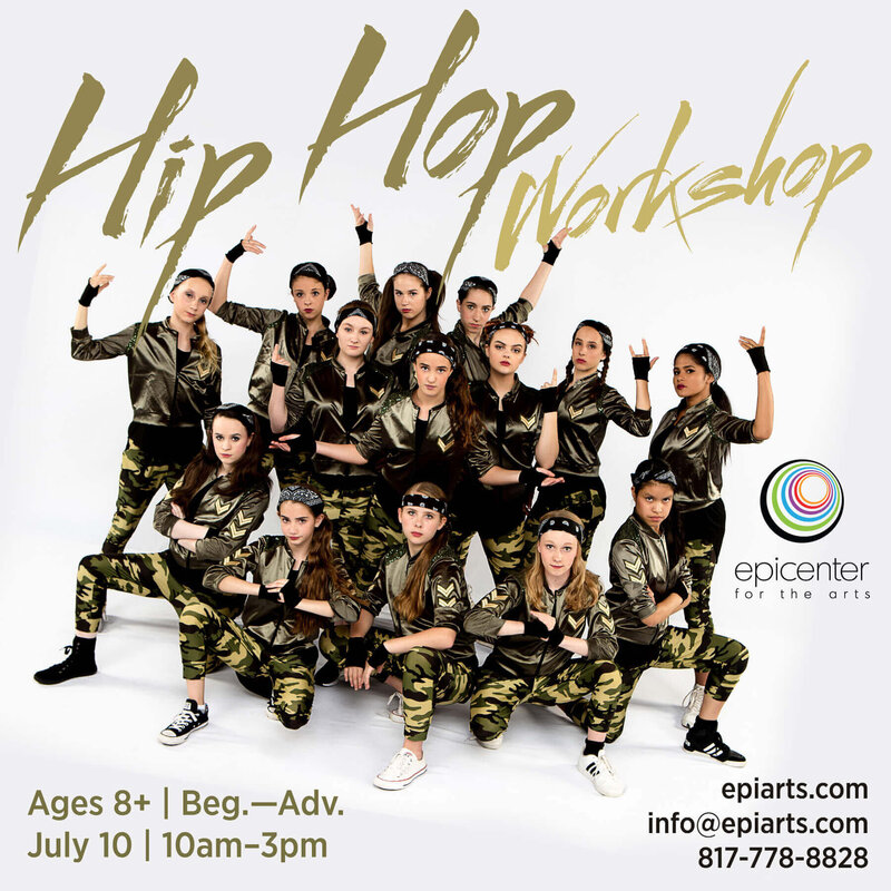 Hip Hop Workshop graphic