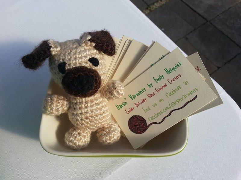 Yarn Dog and Cards