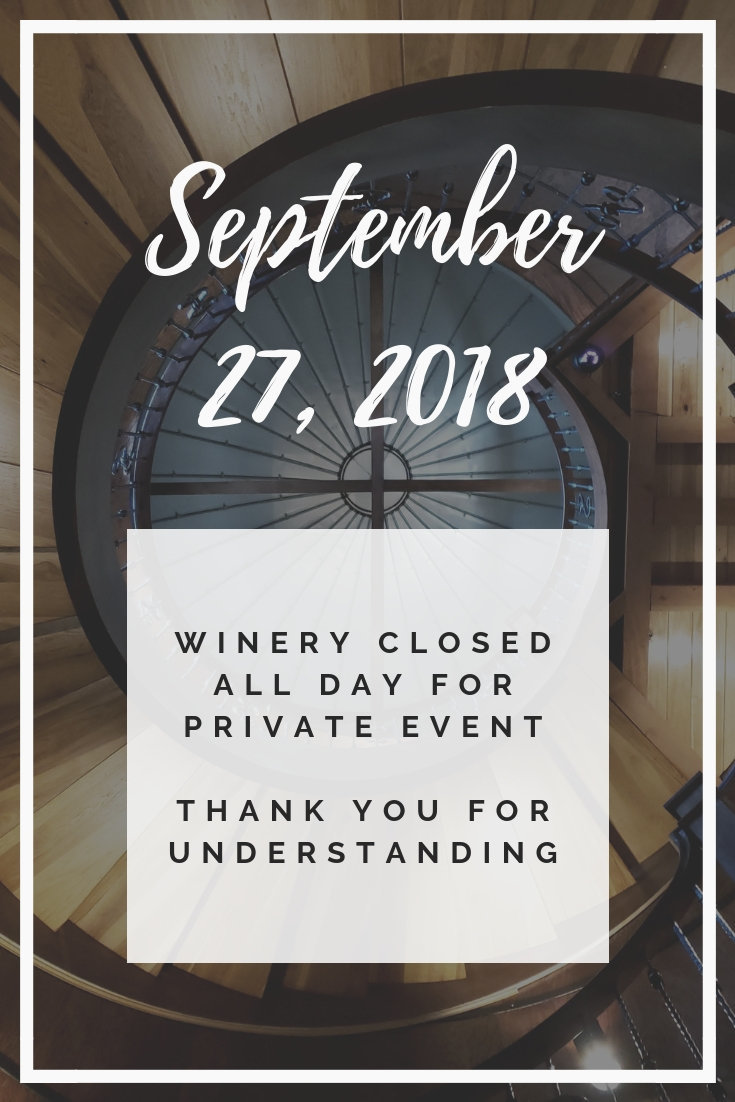 Sept 27, 2018 Closure