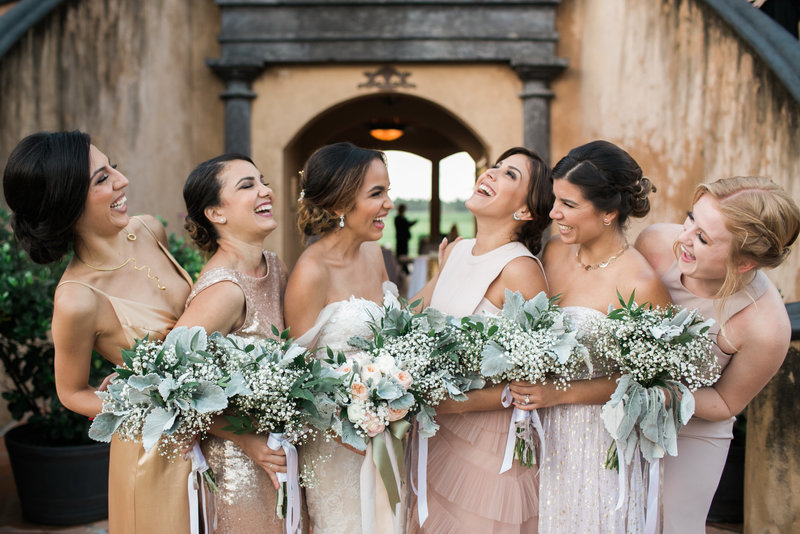 Bridesmaids Hacienda Campo Rico, Puerto Rico Destination Wedding