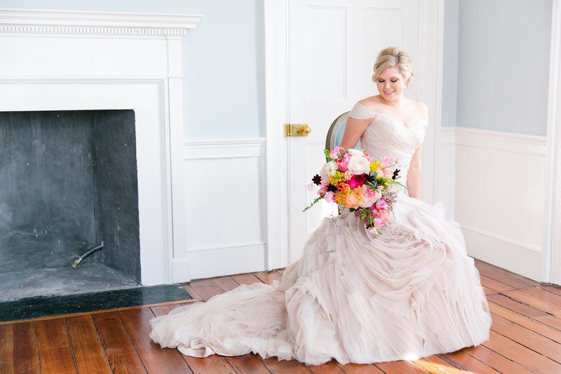 Gadsden House Bridal Portraits