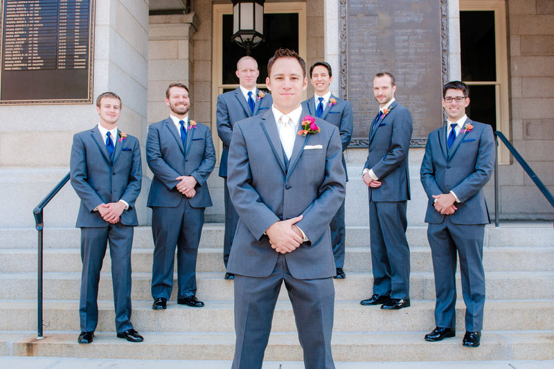 JandDstudio-wedding-photogrphy-old-york-county-courthouse-groomsmen-outdoor