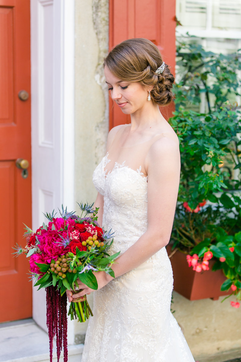 Vibrant Bridal Portraits in Charleston SC