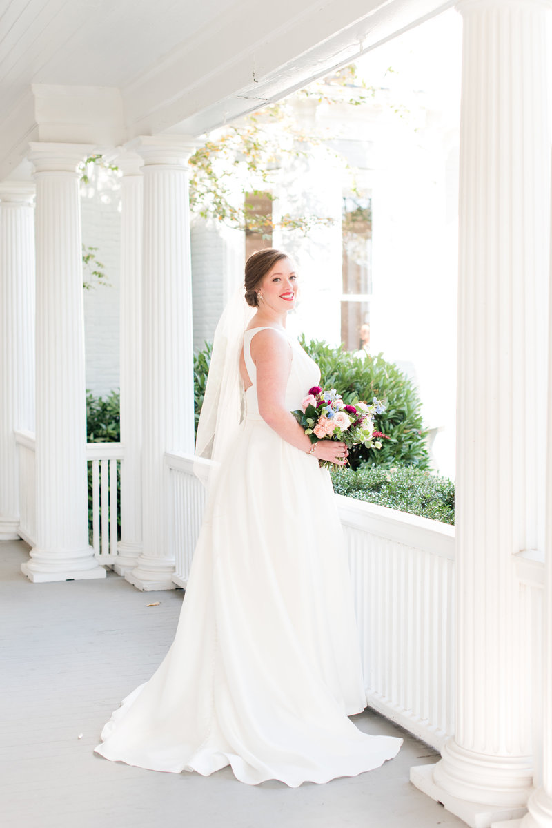 A McAlister Leftwich House Wedding, Michelle & Sara Photography, Greensboro NC3