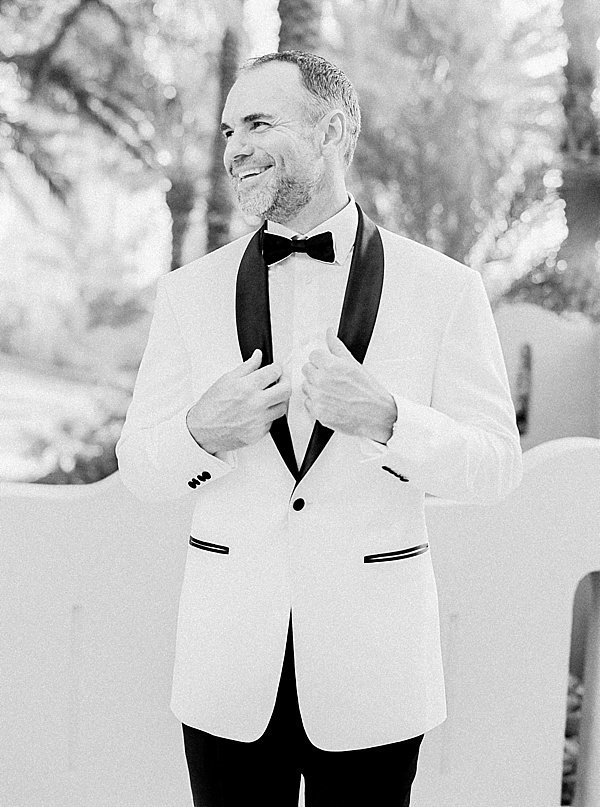 Groom white tux dubai