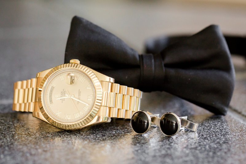 Groom Rolex watch