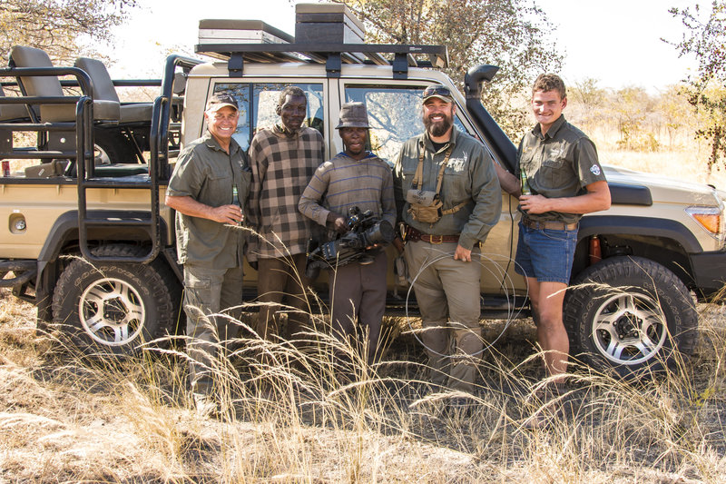 Behind the scenes with the filming crew in Namibia. On set with Raven 6 Studios and Omujeve Safaris