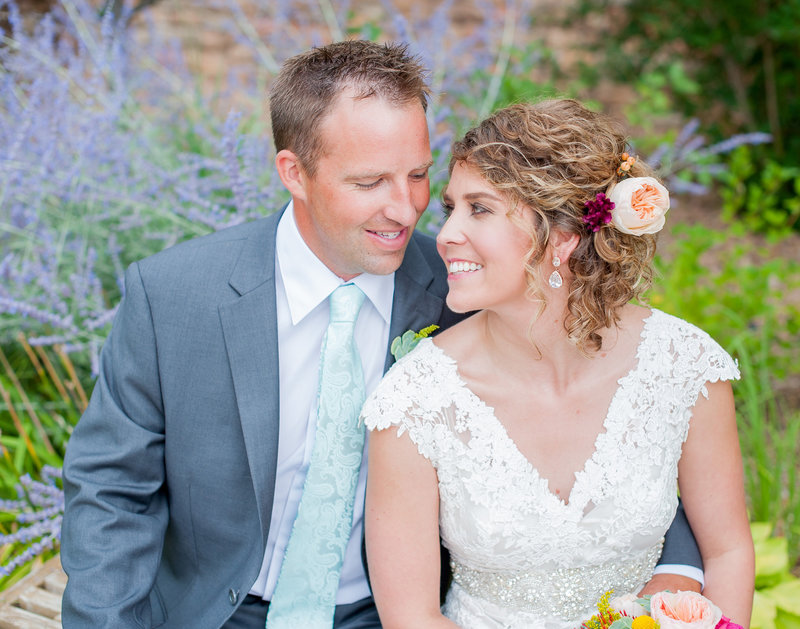 Fargo photographer headed to Thumper Pond resort for this wedding. Beautiful lavender gardens for pictures. www.kriskandel.com