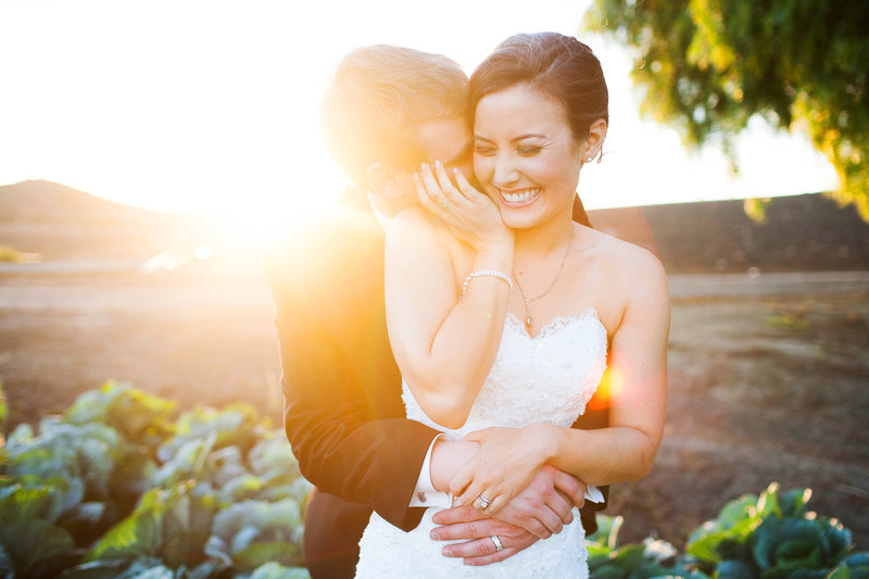 Southern California Garden Wedding