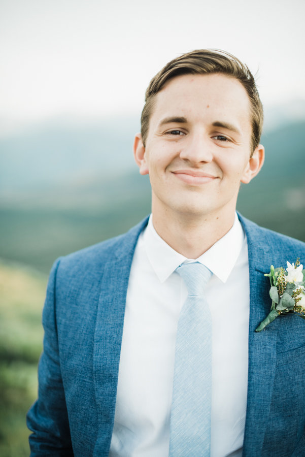 Groom Wedding Portraits Salt Lake City Utah