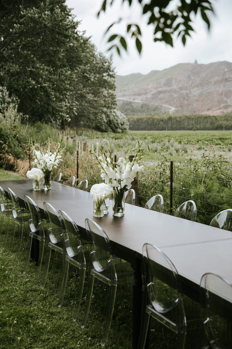 Flock events wedding event furniture for hire hawkes bay