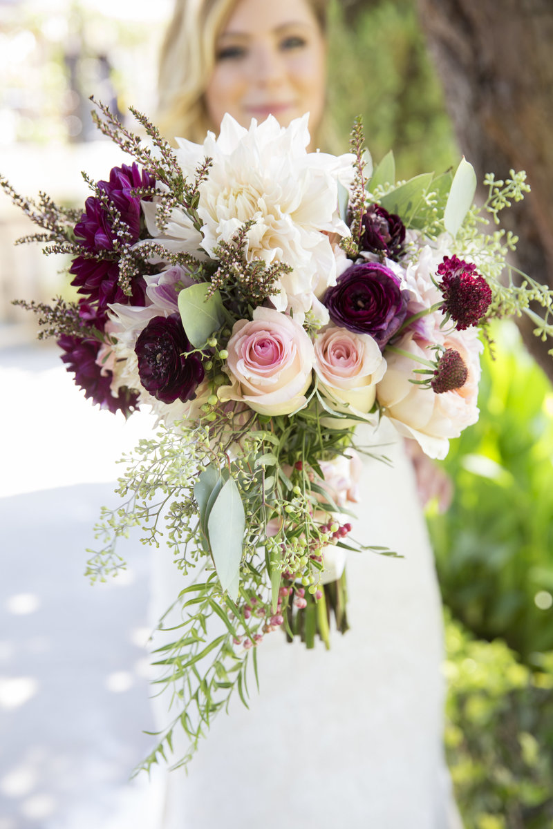 Beautiful summer wedding bridal bouquet, wedding photographer, Temecula Wedding Photographer