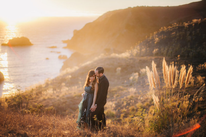california-coast-engagement-photography