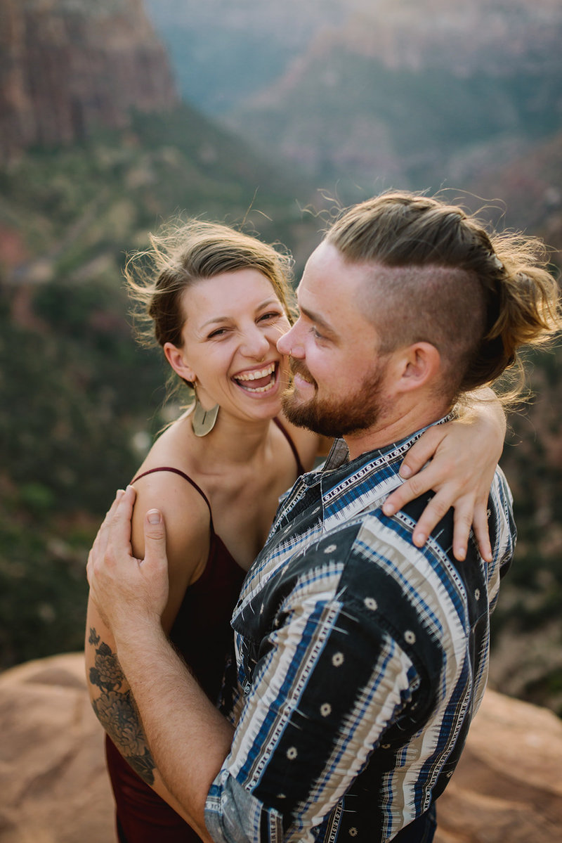 Wild Within Us Wedding Portrait Engagement Lifestyle Photography Photographer Zion National Park Natural11