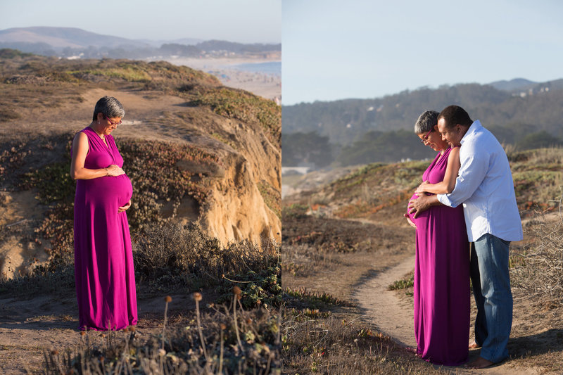 Beach Maternity, Half Moon Bay Maternity, Maternity Photography, Maternity Session, Expecting, Jennifer Baciocco Photography