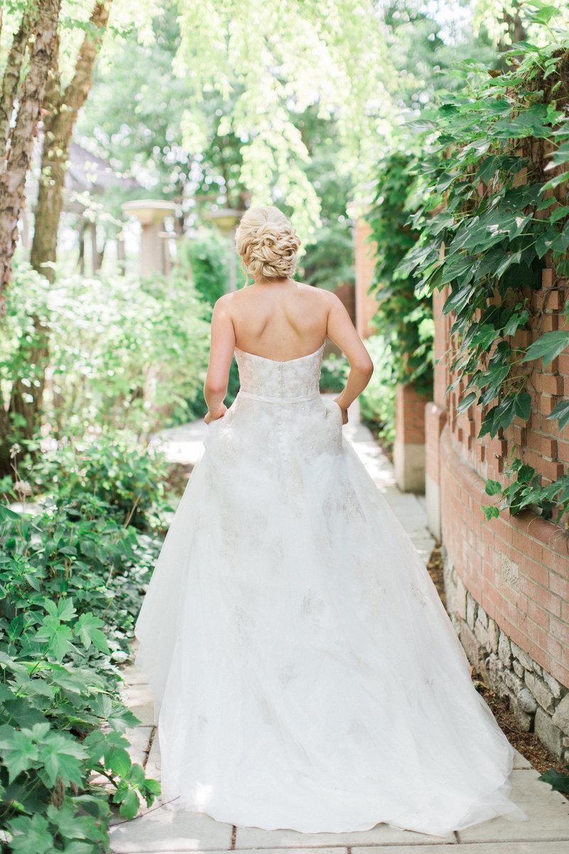 White River Gardens Indianapolis Wedding Summer Wedding
