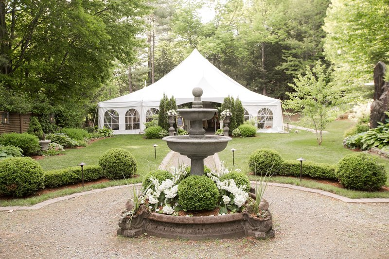 Wedding ceremony in Vermont
