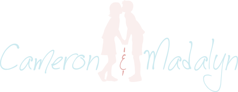 Wedding photographers Cameron and Madalyn logo