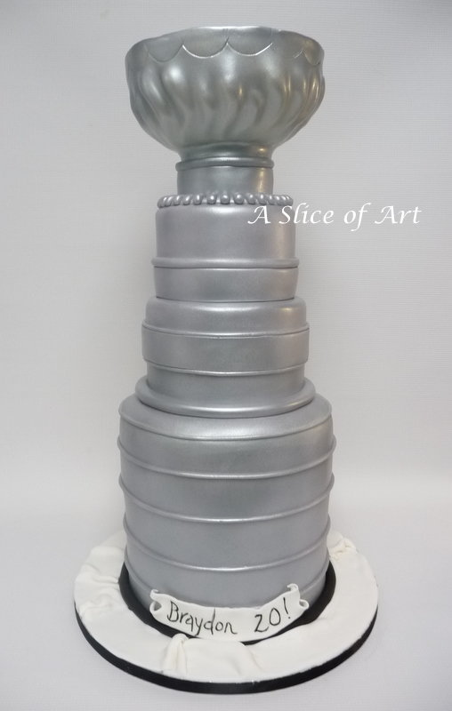stanley cup cake