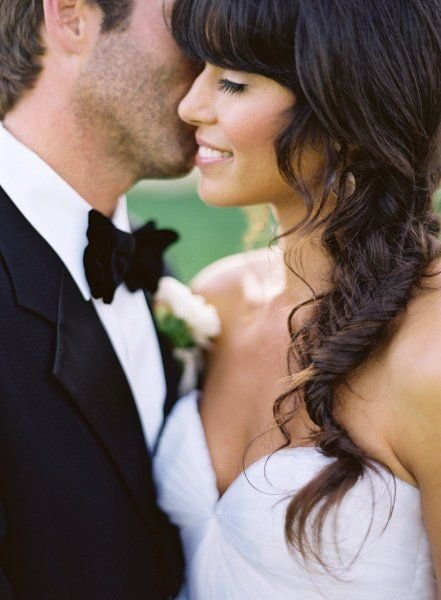 Wedding Hair and Makeup shot by Jose Villa