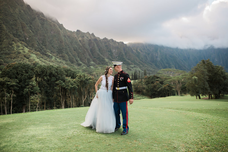 Gorgeous wedding at Koolau Ballrooms in Hawaii