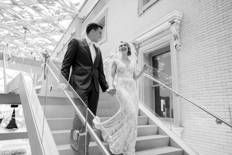 Slover Library Norfolk Virginia Wedding Photographer Michael and Jasmine Photography