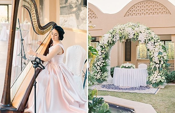 Harp Wedding One & Only Royal Mirage