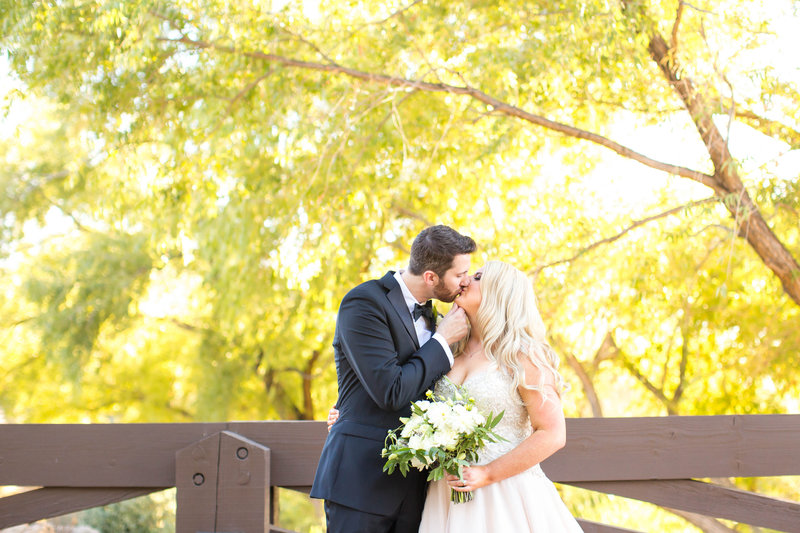 YEF_Groom and Bride Kissing