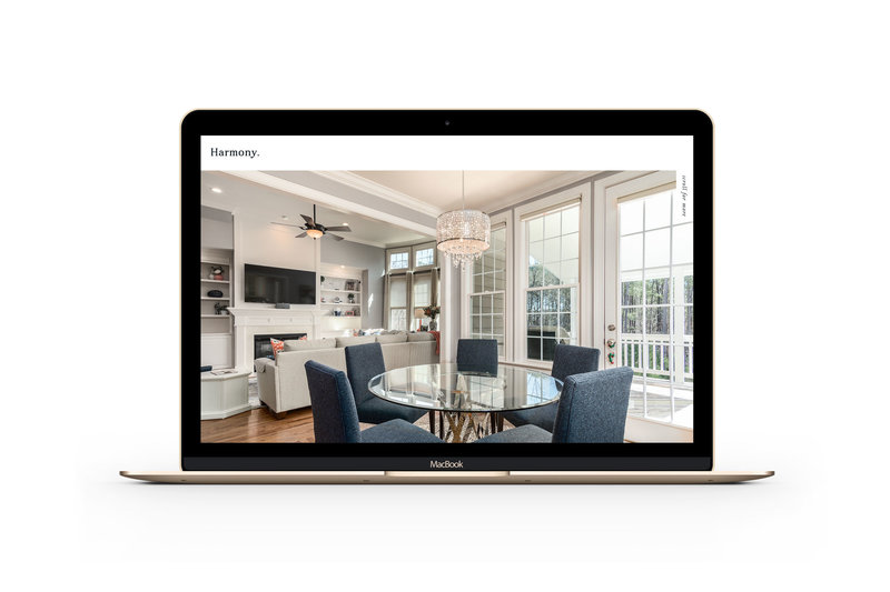 Easy to customize drag and drop website templates for interior design photographers