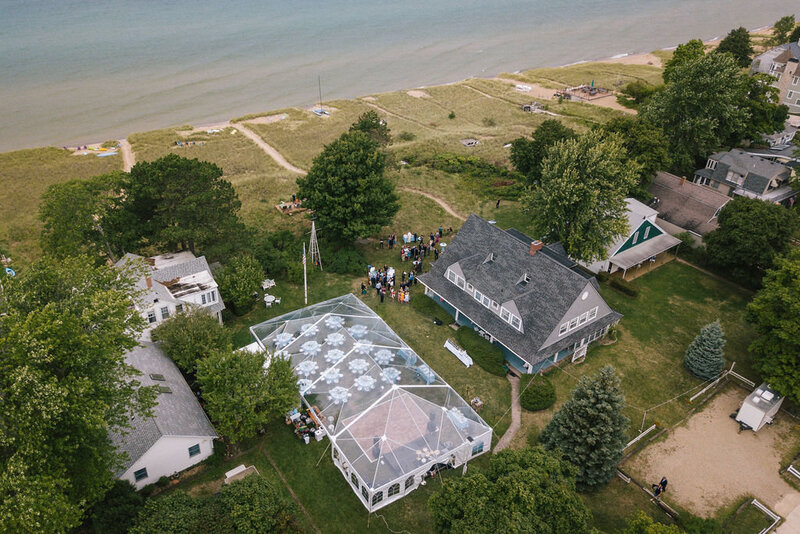 Tented Reception in South Haven