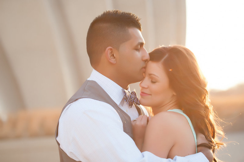 Kauffman Center wedding photo