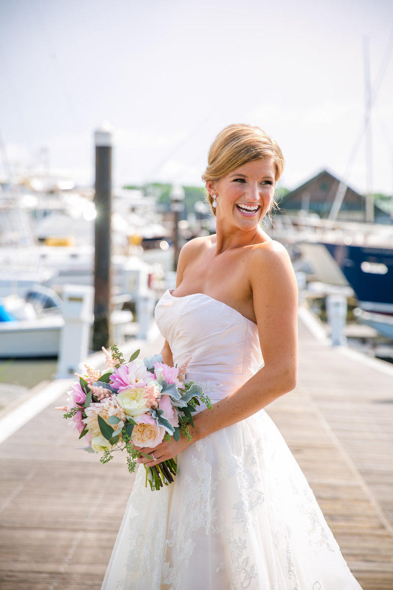 Coastal Bridal Portraits in Charleston