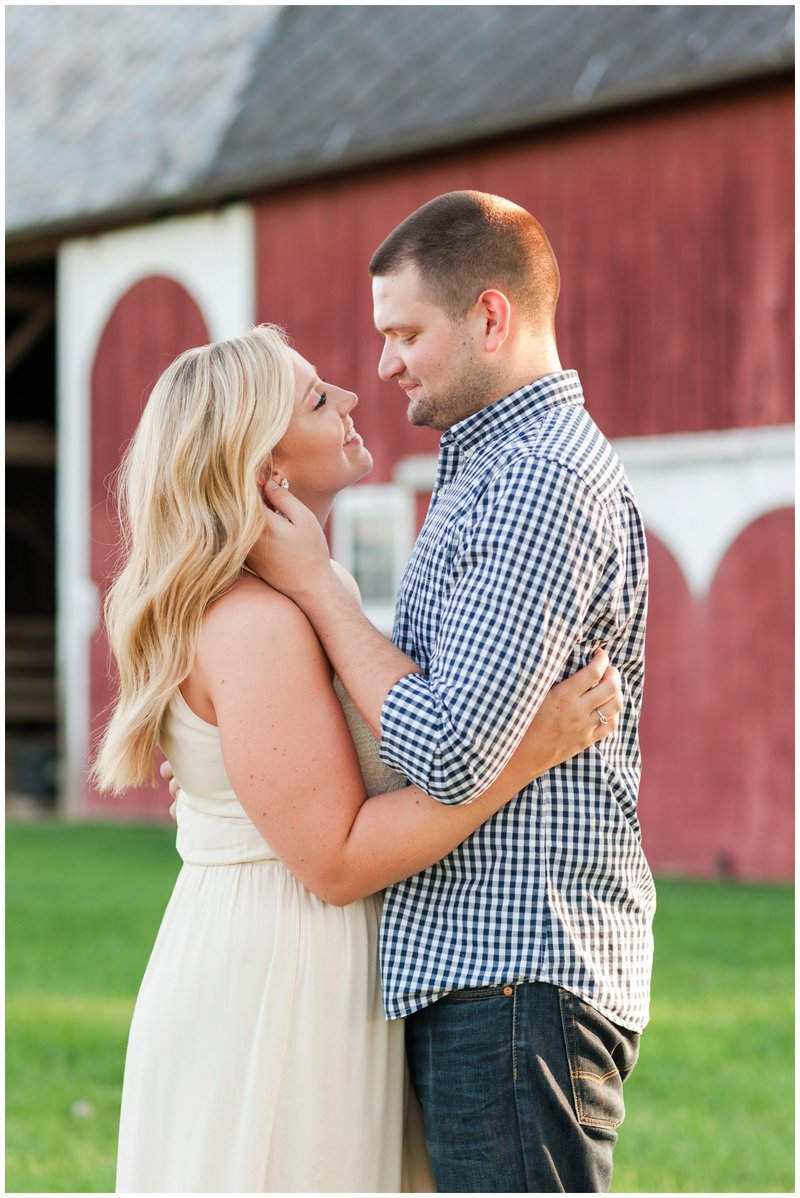 Mansfield Ohio Engagement Session Kingwood Garden Center_0004