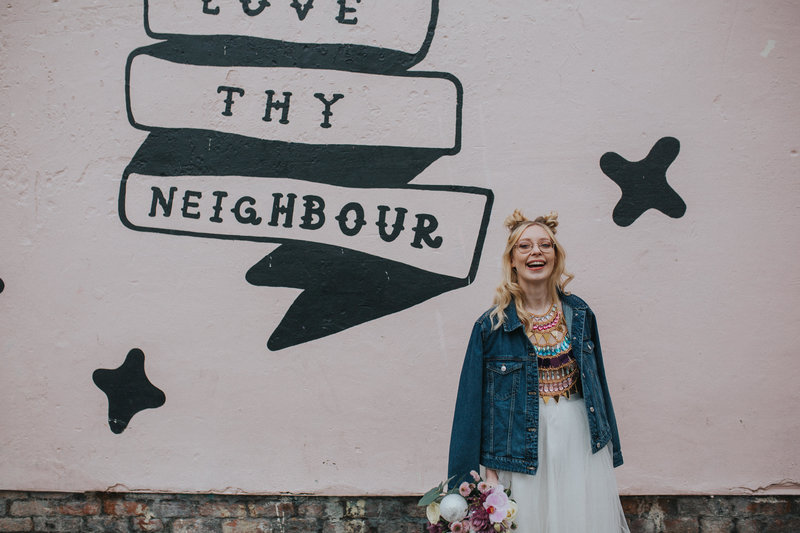 Love Thy Neighbour -- Liverpool Roller Gurl shoot -  Electric Blue - Photography & Film -23