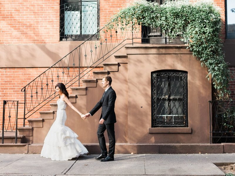 New York Wedding Couple