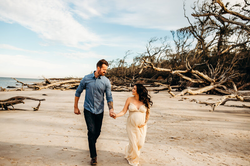 destination beach maternity session jacksonville florida-1