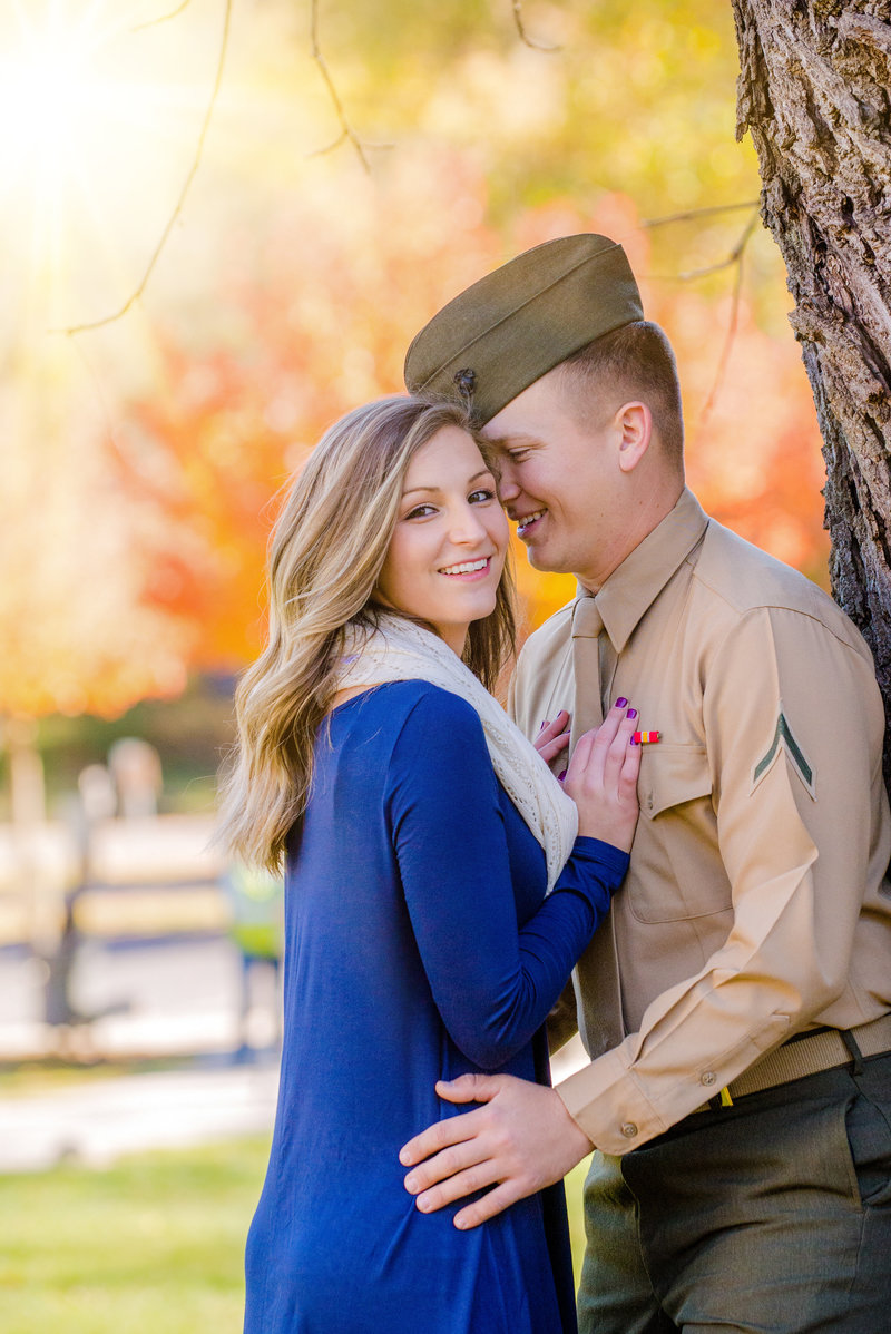 JandDstudio-engagement-rustic-vintage-military-fall (6)