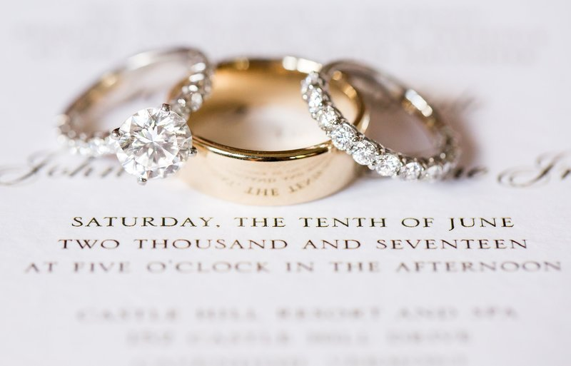 Ring photo by NJ Wedding Photographers