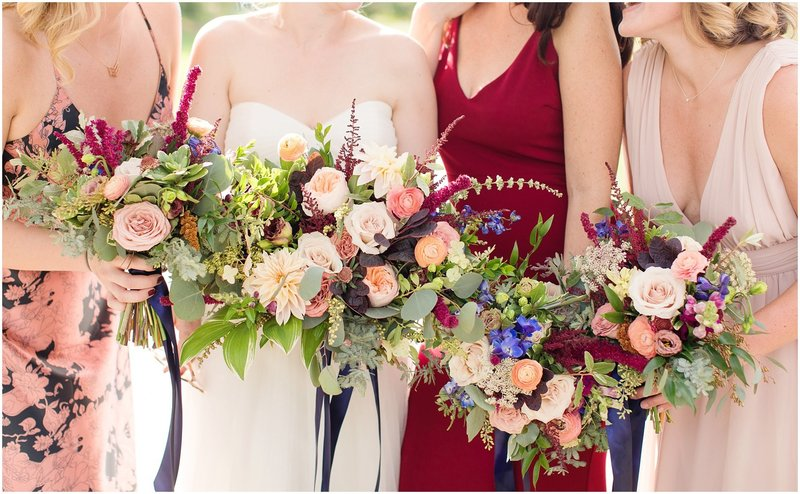 jewel-toned weddings