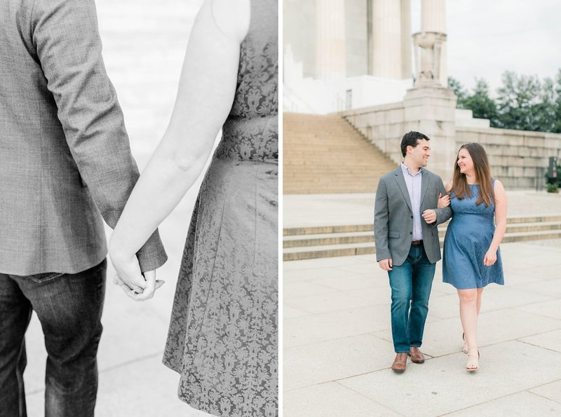 Klaire-Dixius-Photography-Virginia-Wedding-Photographer-Washington-DC-Lincoln-Memorial-Sunrise-Engagement-Session-Ray-Lindsey-119-1