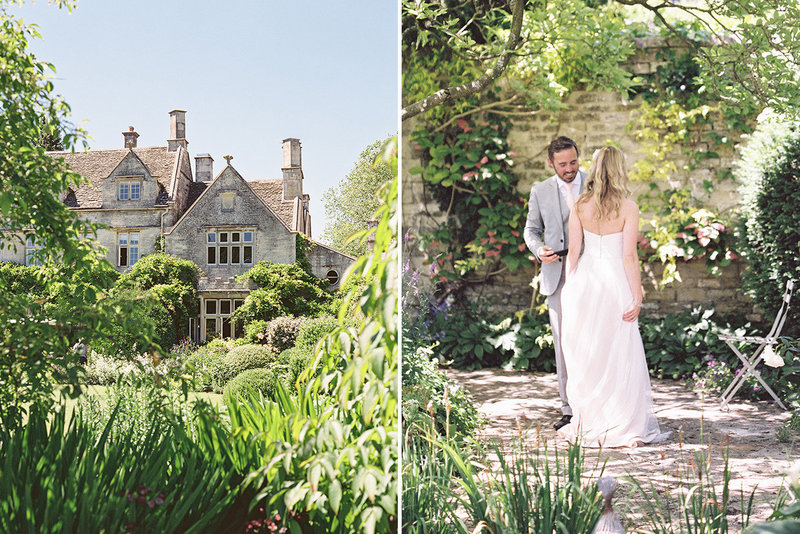 sarah hannam barnsley house cotswolds wedding film photographer