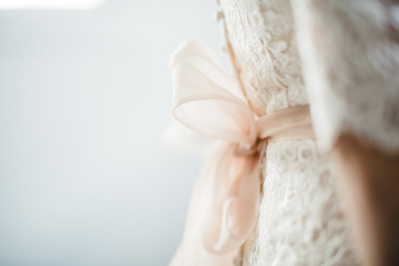 Dress Detail Editorial Bridal Portraits Salt Lake City