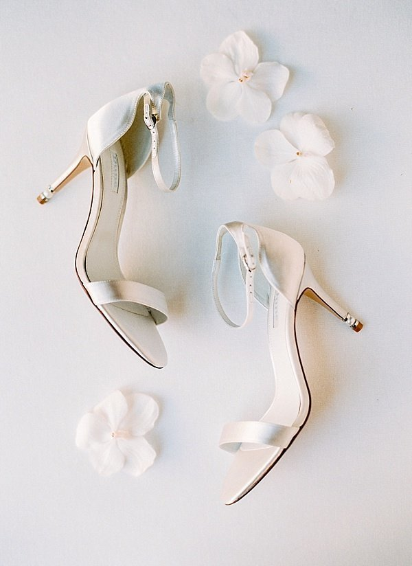 Maria Sundin Photography_White Classic Wedding Shoes