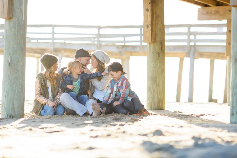 Whole Beach Family Session-0004