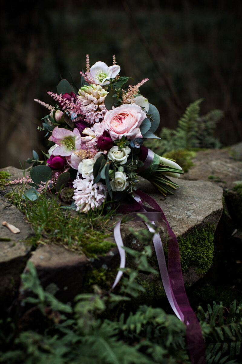 Yorkshire wedding florist75