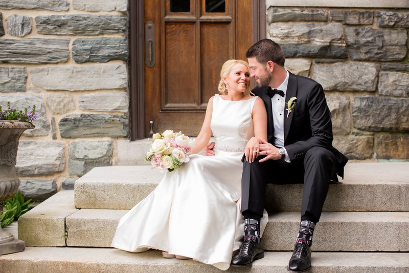 Bride and groom photo by NJ Wedding Photographers