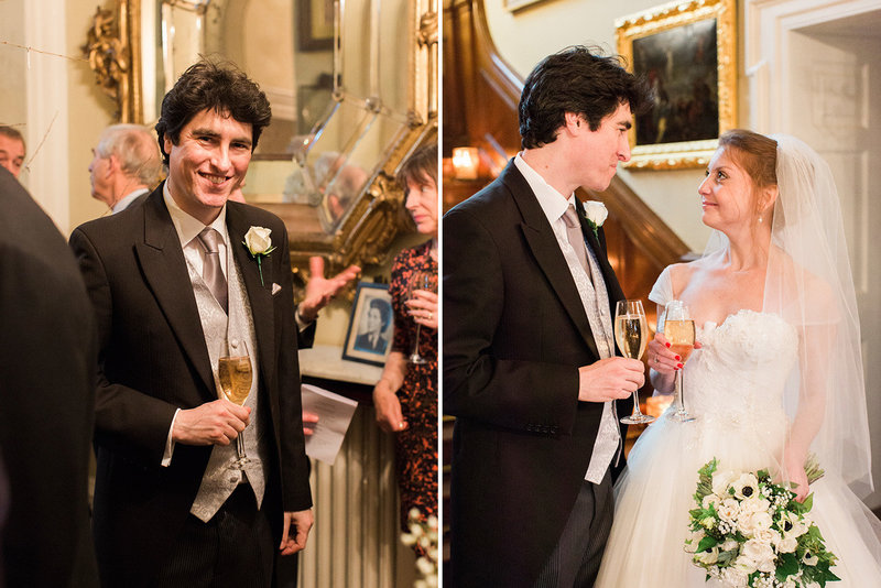 sarah hannam bradley house wiltshire wedding film photographer reception