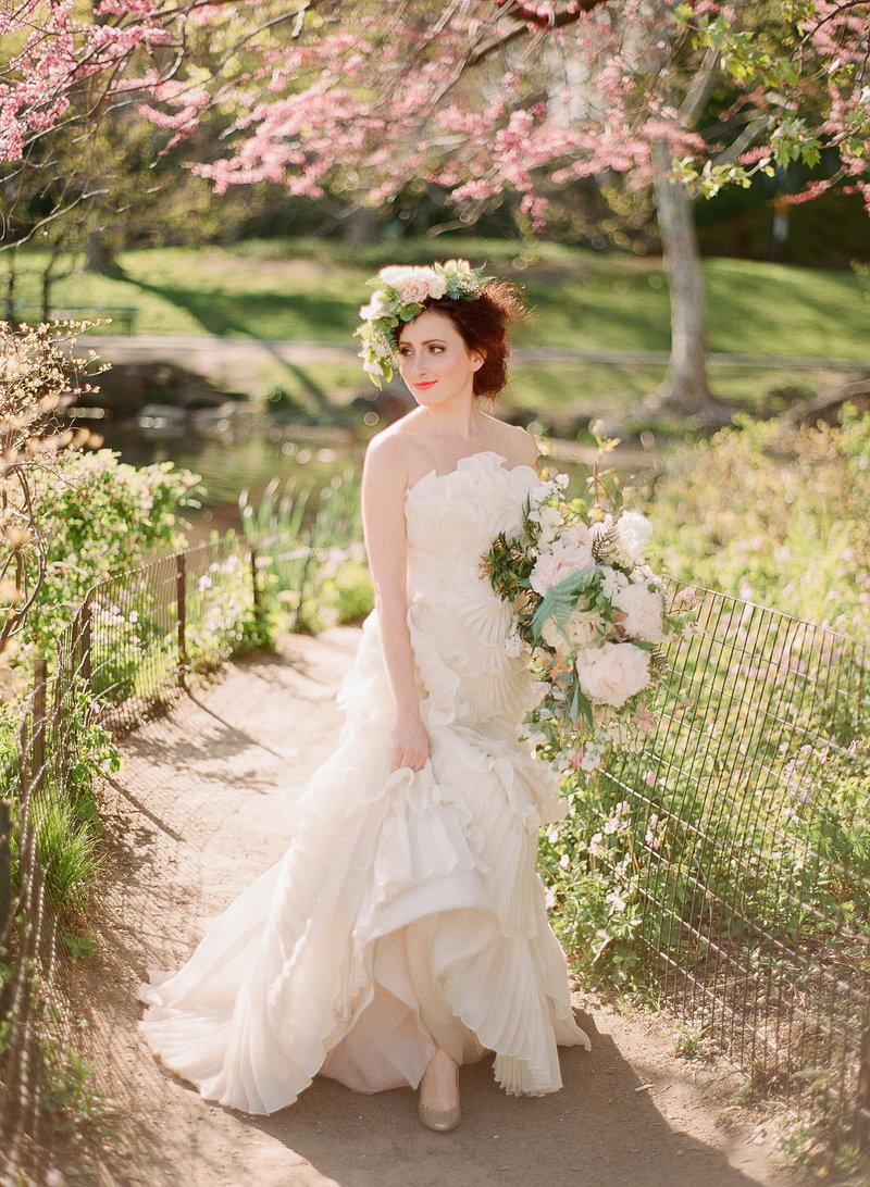 Bridal long dress-19