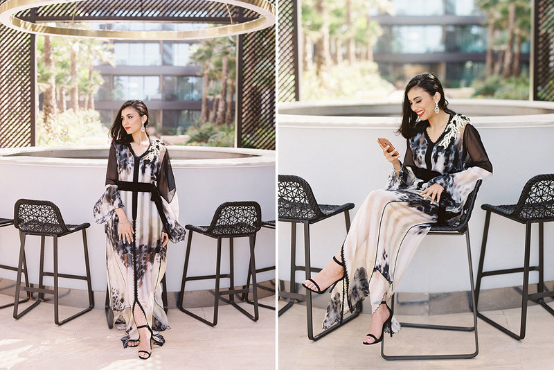 sarah hannam four seasons casablanca wedding kaftan 3
