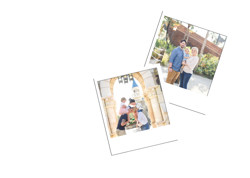 Disney Family Photography, Disney Family Sessions, Disney Photographer